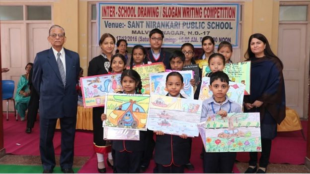 Inter School Drawing / Slogan Writing Competition