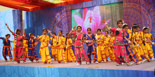 Annual Day celebration at SNPS Malviya Nagar